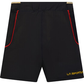 La Sportiva Freccia Shorts Men, black/yellow